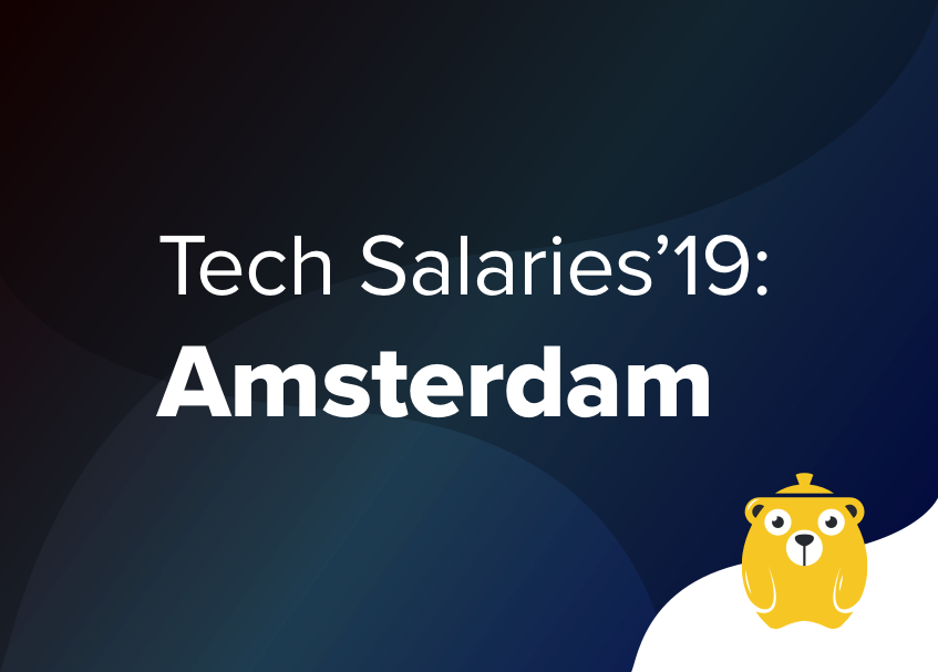 Tech Salaries 2019: How much do developers earn in Amsterdam?