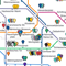Berlin's Startups Mapped by U-bahn Station