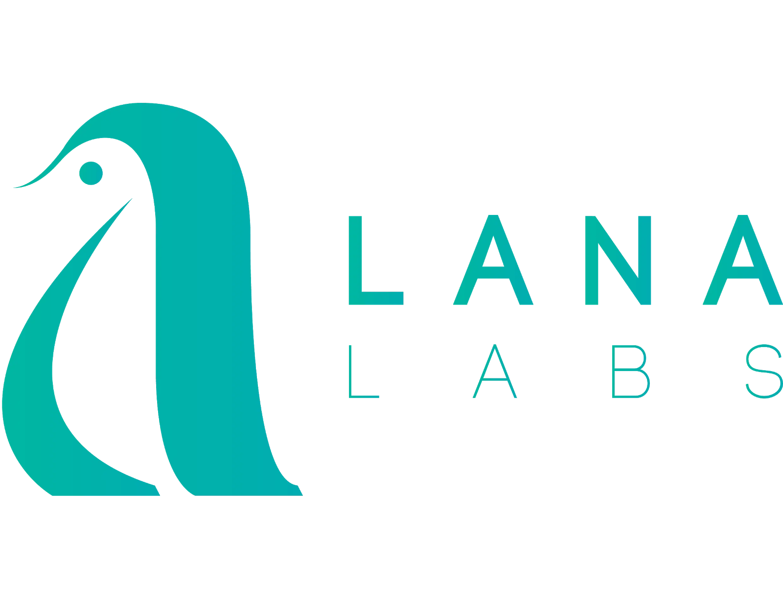 Company logo for Lana Labs process mining: a green penguin silhouette.
